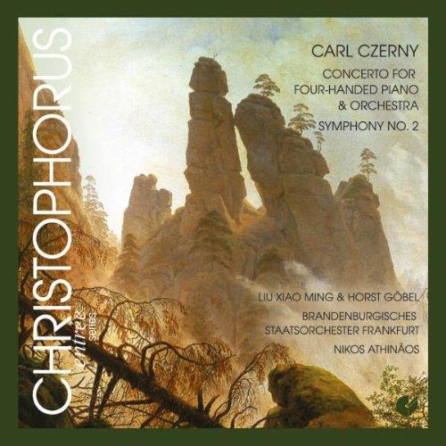 Carl Czerny: Konzert für Klavier zu vier Händen & Orchester / Sinfonie - Czerny Sinfonie