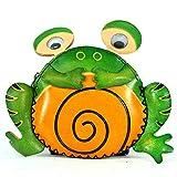 La rana femminile del cerchio della borsa del fumetto dello zodiaco della borsa femminile di forma animale della tenuta della mano sveglia a mano