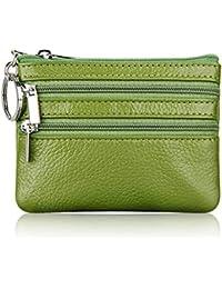 Suchergebnis auf für: Damen Leder Geldbörse grün