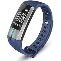 wawer G20 Bluetooth Smart Watch Tensiómetro de fecha electrocardiogramas Pulsómetro De Pulsera Compatible Sistema Android 4.4