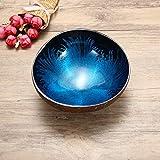 Essort Kokosnussschale, dekorativ, natürlich, Mosaik, handgefertigt blau