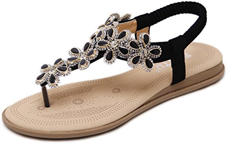 Randonnée Femmes Chaussures Talons hauts PU Printemps Été Travail Chaussures Sauvages Saisons Noir Blanc Rose Rouge Bourgogne taille 33--43 GAOLIXIA