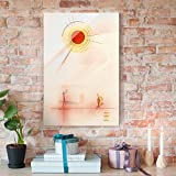 Bilderwelten Stampa su vetro - Wassily Kandinsky - Raggi - Espressionismo verticale 3:2, quadri da parete decorazioni murali decorazioni vetro stampa su vetro quadri in vetro per pareti quadri in vetro da parete, Dimensione: 60cm x 40cm