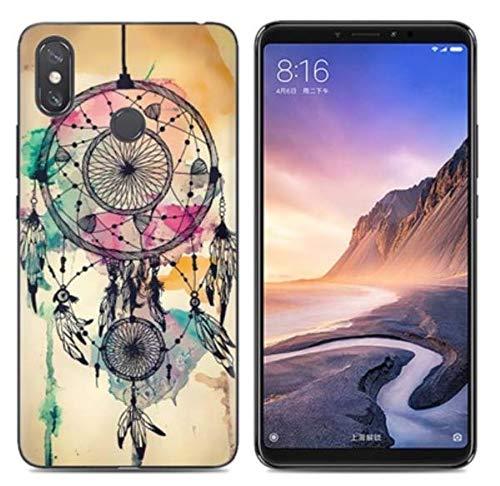 Prevoa Funda para Xiaomi Mi MAX 3 - Colorful Silicona TPU Funda Case para Xiaomi Mi MAX 3 Smartphone - 2