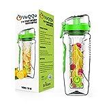 Best Fruit Infuser Water Bottle Bpa Frees - VuQQo Fruit Infuser Water Bottle by BPA Free Review