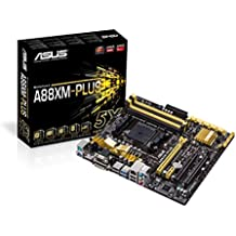Asus A88XM-PLUS Placa base (Socket FM2 +, AMD A88X, DDR3, S-ATA 600, Micro ATX, 1x PCI Express 3.0 x16, USB 3.0)