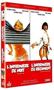 Coffret Comédies Polissonnes Italiennes : Infirmière de Nuit (L') + L'Infirmière du Régiment (2 DVD)
