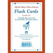 Alfred's Basic Piano Library: Flash Cards, Levels 2 and 3