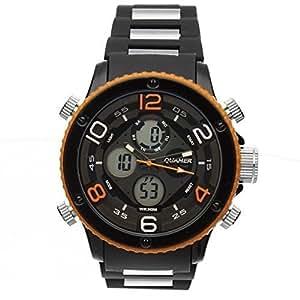 armbanduhr herren mit analog und digitalzeiger led