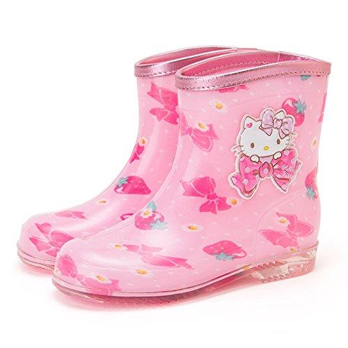 Hello Kitty boots (strawberry) 18cm