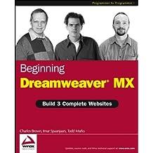 Beginning Dreamweaver MX by Charles E. Brown (2003-02-10)