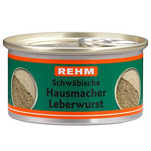 Rehm Schwäbische Hausmacher Leberwurst, 12er Pack (12 x 125 g)