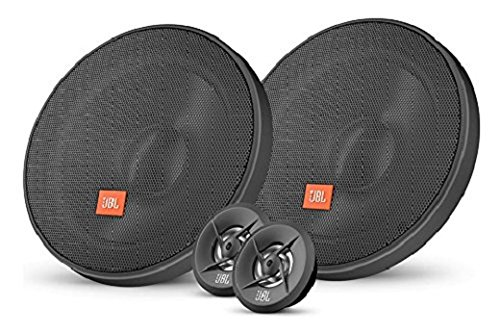 JBL Stage 600CE Sistema Altoparlante Stereo da Auto 6,5' (165 mm) (Woofer e Tweeter), Nero (Venduti in Coppia)
