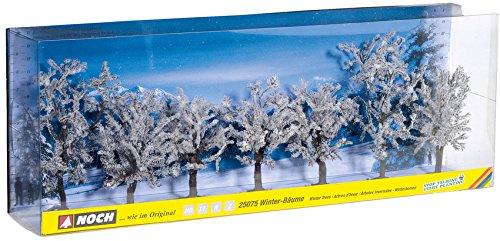 Noch NO 7ER-Set Winter-BÄUME, 80-100 MM