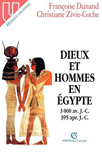 Dieux et hommes en Egypte - 3000 av. J-C 395 apr. J.-C.