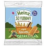 Heinz Reduced Sugar Original Biscotti, 7 months +, 60g