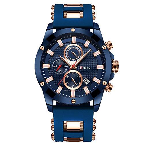 Mens Black Ultradünne Uhr Minimalist Fashion Luxury Armbanduhren für Männer Business Kleid Wasserdicht Casual Quarzuhr für Mann mit Edelstahlgewebe Band (Bänder Herren-kleid-uhr)