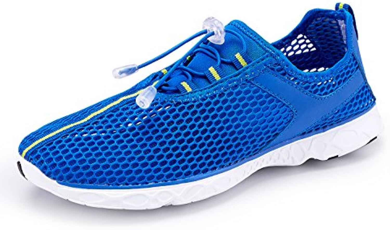 KALEIDO Herren Aqua Schuhe Atmungsaktives Mesh Schnell Trocknend Wasser Schuhe