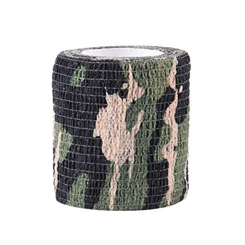 Alomejor Camouflage Tape Jagd Tape Shooting Game Selbstklebende Wasserdichte Camo Stealth Wrap -