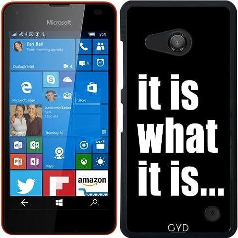 Hülle für Microsoft Lumia 550 - Es Ist, Was Es