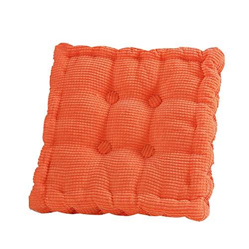 Stuhlkissen, Sitzpolster, Baumwollbezug, dicke Sitzpolster, für Erwachsene, 40 x 40 cm Free Size...