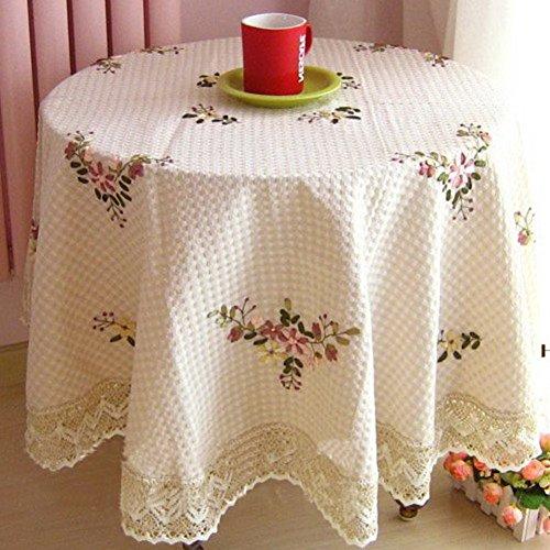 TRE Mode plein air table tissu tissu de broderie/nappe/nappe/tissu recouvrant-A 70x70cm(28x28inch)