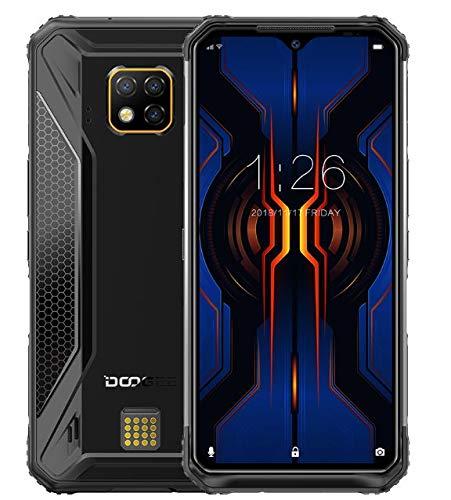 DOOGEE S95 Pro - Smartphone Rugged Modulare, HELIO P90 Octa-Core 8GB RAM 128GB ROM, 48 MP Tripla Fotocamera AI, IP68 Cellulare Impermeabile Antiurto Android 9.0, 6,3'FHD +, NFC, Ricarica Wireless