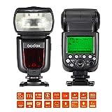 Andoer Godox TT685S Telecamera Speedlite TTL Master Slave GN602.4G, con trasmissione senza fili, HSS 1/8000 s, per Sony A77II A7RII A7R A58A99ILCE6000L ILDC