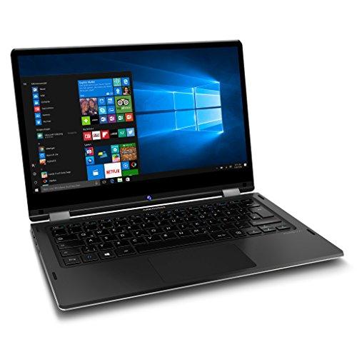 MEDION AKOYA E3213 MD 60793 338cm 133 filled HD show Convertible impression Notebook Intel Celeron N3450 4GB RAM 64GB pen Speicher Intel HD Grafik Win 10 family home silber Notebooks