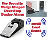 Gadget Hero's 120 dB Security Door Wedge Shaped Burglar Alarm, Intruder Block Safety System.
