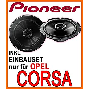 93-14 Opel Corsa B//C//D Pioneer Lautsprecher Boxen 165mm Vordere T/üren