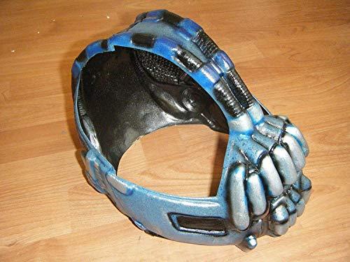 Wrestling Masks UK - Bane Maske Luxus Polyurethan Fassung - Passt 24 Kopf (Bane Erwachsene Maske)