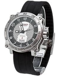 Formex 4 Speed 97801.7040 - Reloj de caballero automático, correa de silicona color negro