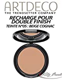 Double Finish Refill, matt, 5, beige cognac kognakbeige, Cremepuder Make up, Artdeco