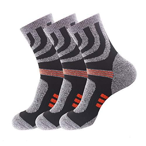 Sport & Unterhaltung Neue Sport Atmungsaktive Lauf Socken Baumwolle Kompression Warme Sport Unisex Deodorant Socken 100% Garantie
