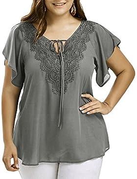 FAMILIZO Camisetas Mujer Tallas Grandes Camisetas Mujer Manga Corta Blouse For Women Camisetas Mujer Verano Blusa...