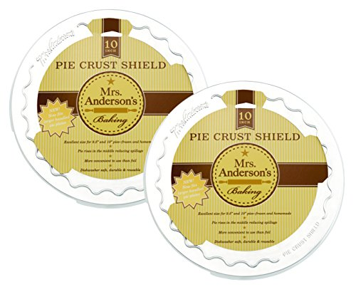 Mrs. Anderson's Backen Pie Krust Schutz Schild Pie Crust Shield, 10