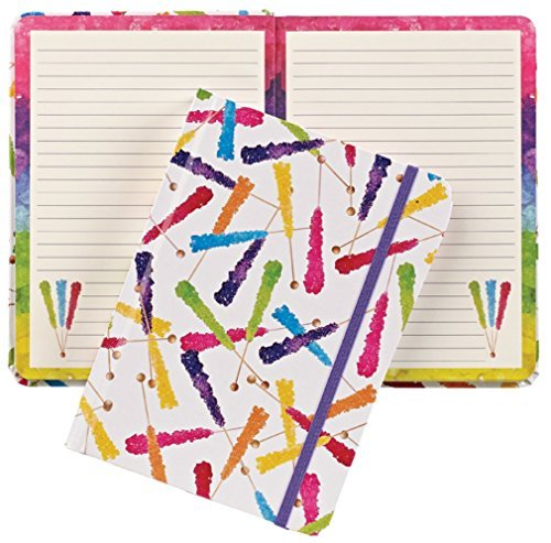 iscream Rock Candy Hard Covered Journal by iscream - Hard-rock-candy