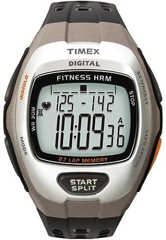 Timex Sport Herren-Armbanduhr XL Zone Trainer Digital Kautschuk T5H911