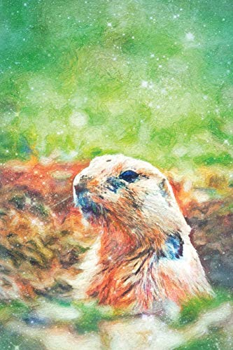 Notes: Black Tailed Prairie Dog (Cynomys Ludovicianus) - Blank College-Ruled Lined Notebook (Student Animal Journals for Writing Journaling & Note-taking, Band 356) - Black-tailed Prairie Dog