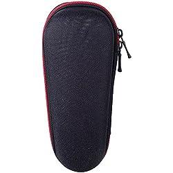Deylaying EVA Housse Sac pour Braun Shaver 3040s/300s/310s/3010s/3000s/790cc-4/760cc-4/720s-4/9090cc/9050cc/9030cc/9095cc,EVA Voyage Sac protecteur Portable Porter étuis Box Cas(Adapté au Chargeur)