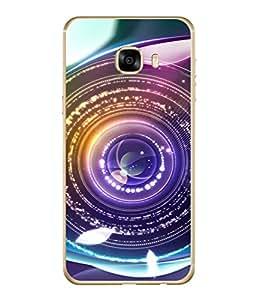 PrintVisa Designer Back Case Cover for Samsung Galaxy C7 SM-C7000 (Camera Lens Photo clicking Frame)