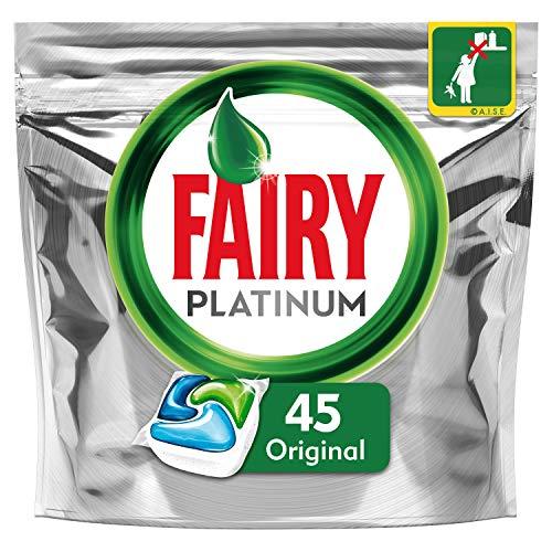 Fairy Platinum Original Cápsulas de Lavavajillas - Pack de 45Unidades