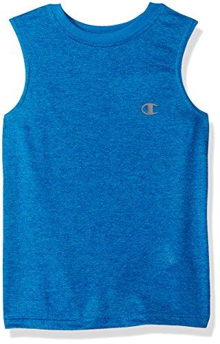 Meister kleine Jungs Leistung Muskel Tank, blauer Saphir Heather, 4 -