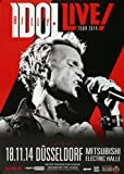 TheConcertPoster Billy Idol - Kings & Queens, Düsseldorf 2014 | Konzertplakat | Poster Original