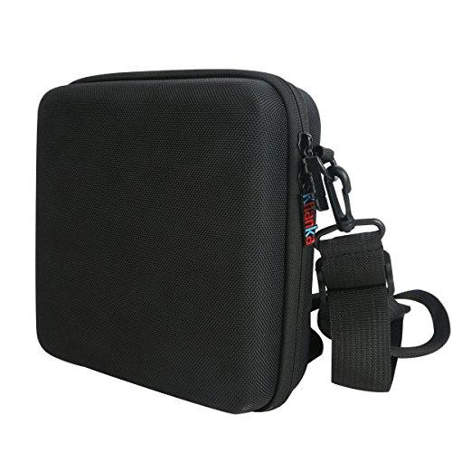 Khanka Hard Case Travel Aufbewahrungstasche für Olympus 118760Trooper 10x 50DPS I Fernglas (schwarz) Semi Hard Case