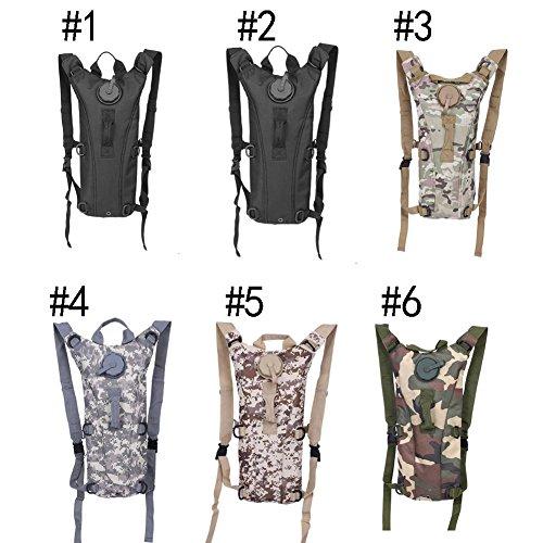Multifunktions-Wasser Blase Durable Rucksack Wandern Camping Radfahren Taschen für den Außenbereich #1