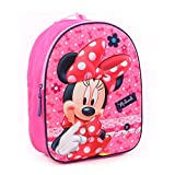 Disney Minnie Mouse 3D Kinder Rücksack Kindergartenrucksack - Dotty about Dots