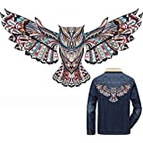 TOTAL HOME DIY Printing Iron-on 3D Eagle Heat Transfer Paper Patches/Appliques,16.5x30cm (Multicolour, PCTR81416 R81416)