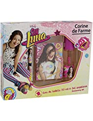 Corine de Farme Coffret Disney Soy Luna Eau de Toilette + Carnet + Stylo + Stickers 50 ml